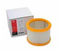 Фильтр патронный складчатый ZS 14 из белой целлюлозы (бумага) для MAKITA 440, 448, VC 3510