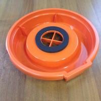 Блок конусного фильтра без держателя фильтра Vax BLOCK Цвет черный, оранжевый. Держатель фильтра продается отдельно.