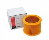Фильтр патронный складчатый ZS 14 из желтой целлюлозы (бумага) для пылесосов MAKITA 440, 448, VC 3510