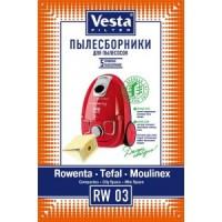 Бумажные пылесборники Vesta Filter RW 03 для пылесосов, тип ZR003901