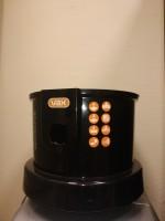 Нижняя часть корпуса без колес Vax BUCKET Цвет черный, оранжевый. Колеса — отдельно.