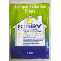 Синтетические мешки-пылесборники KIRBY KU MICRON MAGIC HEPA FILTER PLUS для пылесосов KIRBY любых моделей  (6шт)