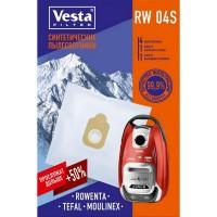Синтетические пылесборники Vesta Filter RW 04 S для пылесосов ROWENTA, TEFAL тип ZR200540