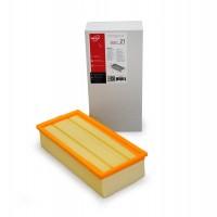 Фильтр складчатый плоский ZS 021 из желтой целлюлозы (бумаги) для пылесосов KARCHER тип 6.904-364, 6.904-283