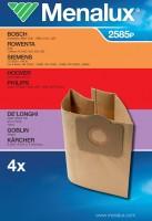Мешки пылесборные бумажные Menalux 2585P
