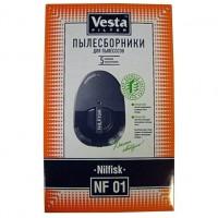 Бумажные пылесборники Vesta Filter NF 01 для пылесосов