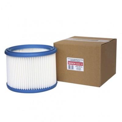 Фильтр HEPA складчатый патронный EURO Clean EUR BGSM-15 из полиэстера (синтетика) для пылесосов GAS 15 GAS 20 GAS 1200 тип BOSCH 2607432024