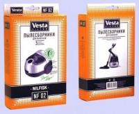 Бумажные пылесборники Vesta Filter NF 02 для пылесосов